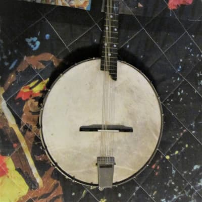 Vintage Banjolin plays and works well is in good condition (Brand Known) 1920 to 1930s