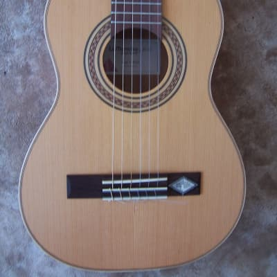 La Mancha 'Rubi' CM/53  Requinto/half size classical guitar and 1SKB-300 ABS hard case for sale