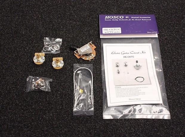 complete circuit wiring kit for fender telecaster style. Black Bedroom Furniture Sets. Home Design Ideas
