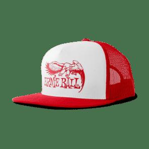 Ernie Ball P04160 Eagle Logo Trucker Cap