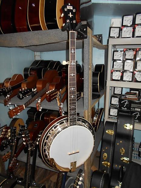 Recording King RK-R36-BR Madison Select Mahogany Resonator Banjo
