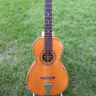 Vintage Lyon And Healy Lakeside 1920's Parlor Acoustic Guitar - Made in USA! for sale