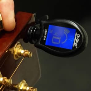 On Stage Clip-On Chromatic Tuner w/Multi-Instrument Modes