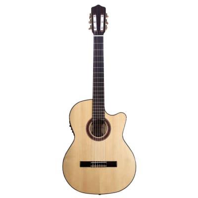 Kremona Flamenco Series Rosa Luna Acoustic/Electric Guitar for sale