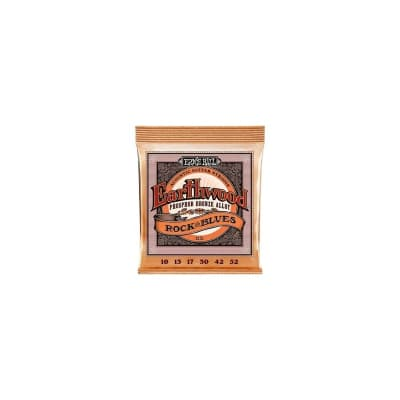 Ernie Ball 2151 Hybrid Slinky Phosphor Bronze Acoustic Strings 10-52