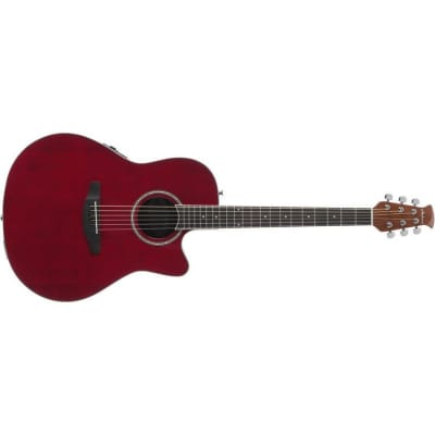 Applause By Ovation Balladeer Acoustic/Electric - Ruby Red - B-Stock for sale