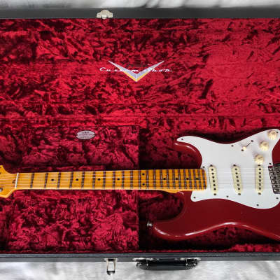 Fender Custom Shop Postmodern Stratocaster Journeyman Relic 2019 Cimarron Red for sale