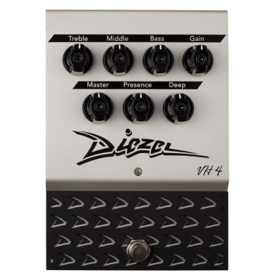 Diezel VH4 Pedal; The Iconic VH4 Amp Faithfully Replicated