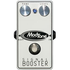 ModTone MT-SB Signal Booster Guitar Effects Pedal for sale