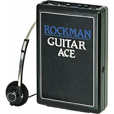 Dunlop Rockman Electric Guitar Ace Portable Amplifier Practice Headphone Amp