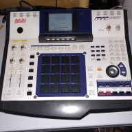 Akai MPC 4000, 32gb SSD, eb4js effects card, new switches, 272mb RAM, OS 1.71 mpc4000