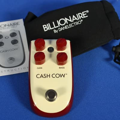 Danelectro BC1 Billionaire Cash Cow Electric Guitar Overdrive Effect Pedal for sale