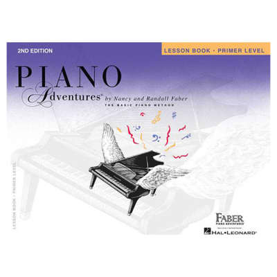 Faber Piano Adventures Primer Level - Lesson Book, 2nd Edition: Piano Adventures