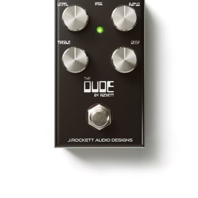 New J. Rockett The Dude V2 Overdrive Dumble Guitar Effects Pedal!