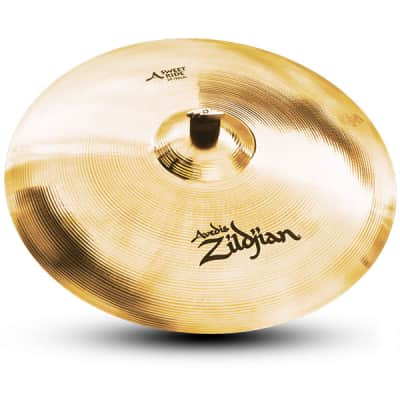 """Zildjian 21"""" A Sweet Ride Brilliant Cast Bronze Cymbal with Low to Mid Pitch A20079"""