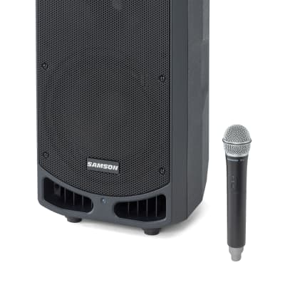 "Samson Expedition XP310W-D 10"" Portable PA Rechargeable Speaker w/Bluetooth+Mic"