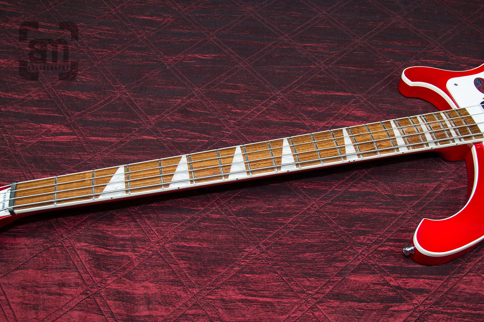 b1e931367b Rickenbacker 4003 4-String Bass Fireglo Authorized Dealer Warranty Original Hardshell  Case!