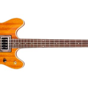 NEW Guild Starfire II Hollow-Body Electric Bass Guitar w/ OHSC Natural for sale