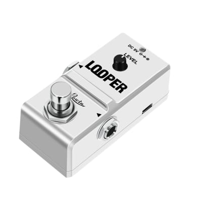 Rowin LN-332 Tiny Looper Electric Guitar Effect Pedal 10 Minutes of Looping Unlimited Overdubs