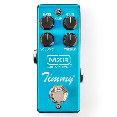 MXR CSP027 Timmy Overdrive Guitar Effects Pedal