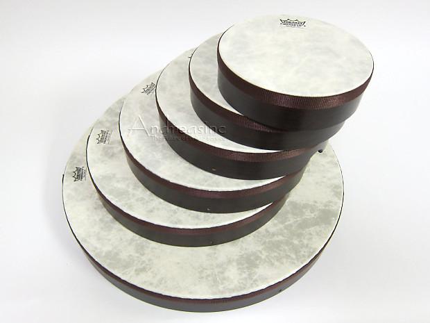 set of 6 remo frame drums w fiberskyn heads reverb. Black Bedroom Furniture Sets. Home Design Ideas