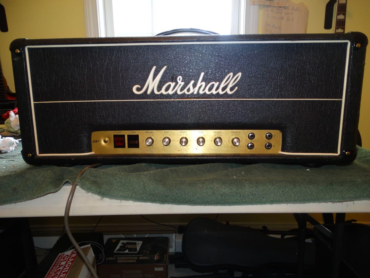 1976 marshall jmp 1987 el34 50 watt reverb. Black Bedroom Furniture Sets. Home Design Ideas