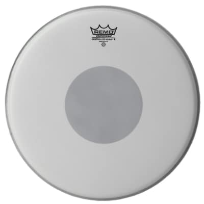 """Remo 13"""" Controlled Sound Reverse Dot Coated and Hazy Emperor Set"""
