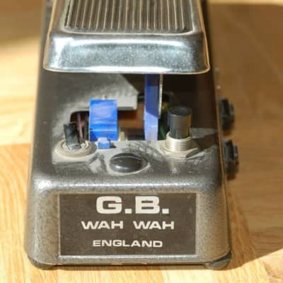 Solasound / Colorsound G.B. Wah  1960 for sale