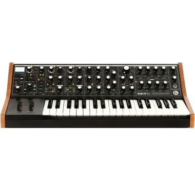 Moog Subsequent 37 37-Key USB MIDI Analog Mono Duo Synth Synthesizer 110V