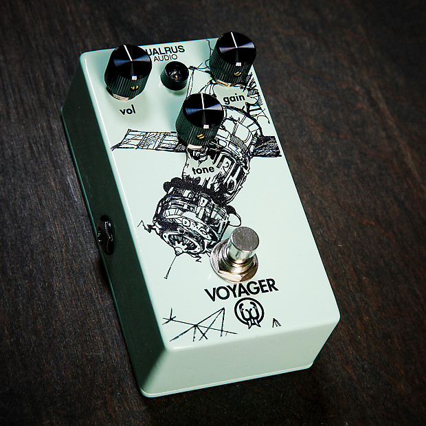 walrus audio voyager overdrive effects pedals reverb. Black Bedroom Furniture Sets. Home Design Ideas