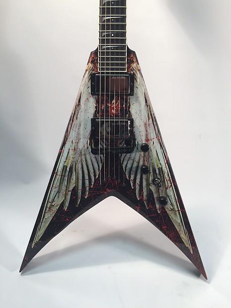 dean dave mustaine vmnt angel of deth electric guitar custom reverb. Black Bedroom Furniture Sets. Home Design Ideas