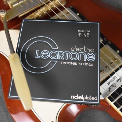 Cleartone Medium Treated Electric Guitar Strings .011-.048