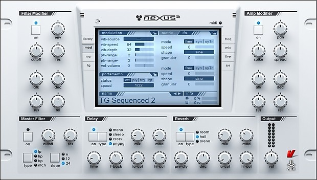 what is nexus 2 vst