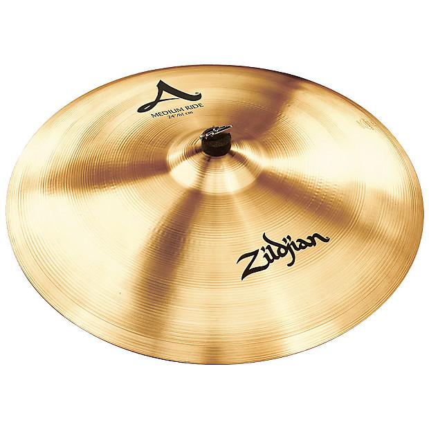 zildjian a 24 medium ride cymbal cymbalfusion reverb. Black Bedroom Furniture Sets. Home Design Ideas