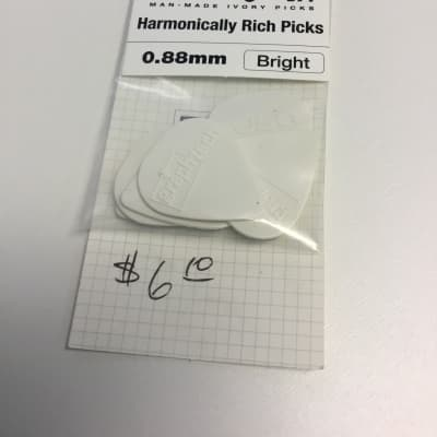 Graph Tech TUSQ Picks, 0.88mm Bright