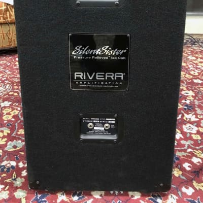 Rivera SilentSister Isolation Cabinet for sale