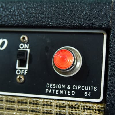Invisible Sound Guitar amplifier Jewel Lamp Indicator amp jewel.  Model 019.  For pilot light