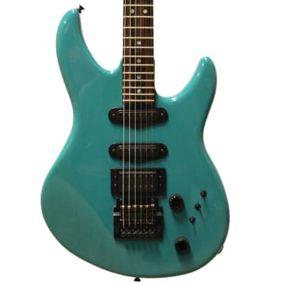 Peavey USA Impact I in Rare Turquoise with Kahler Tremolo for sale