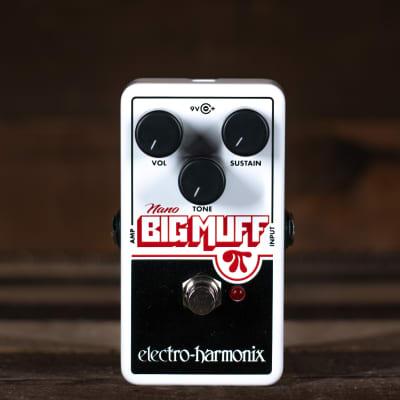 Electro Harmonix Nano Big Muff Distortion/Sustainer Pedal for sale