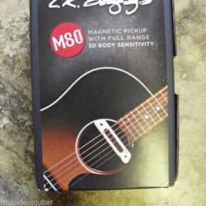 LR Baggs M80 Magnetic Soundhole Pickup Full Range 3D Body Sensivity Free Fender patch cable