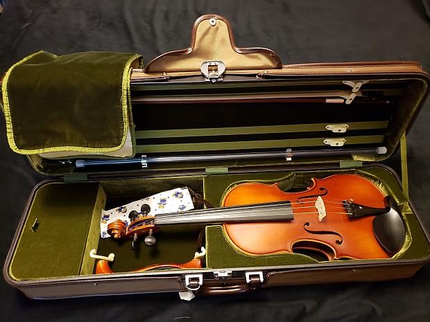 Franz sandner 4/4 viola no: 066349 model: 3101ff 1990   reverb.