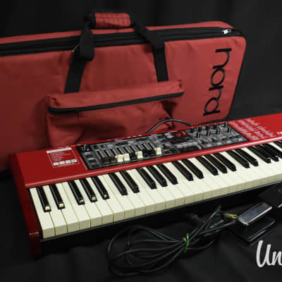 Nord Electro 4D Synthesizer in Excellent Condition W/ Semi-hard case
