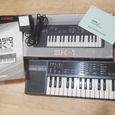 Attic Find! Mint Casio SK-1 Sampling Keyboard, The Original!