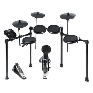 Alesis NITRO 8pc Electronic Drum Kit w/ Module, Bass Drum Pedal