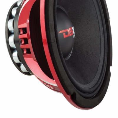 "DS18 - PRO-NEO10R - 10"" 1000 Watt Mid Bass 4 Ohm Speaker Neo Sub Woofer"