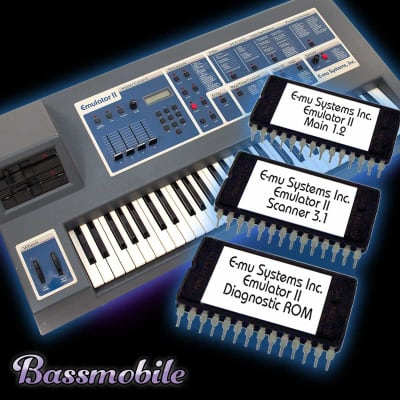E-mu Systems Emulator II 3.1 ROM  Kit by Bassmobile.org
