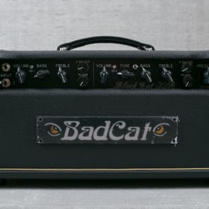 Bad Cat Black Cat 30R Hand Wired Legacy Series 30-Watt Guitar Amp Head with Reverb