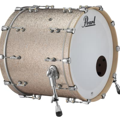 Pearl Music City Custom Reference Pure 22x20 Bass Drum Bright Champagne Sparkle