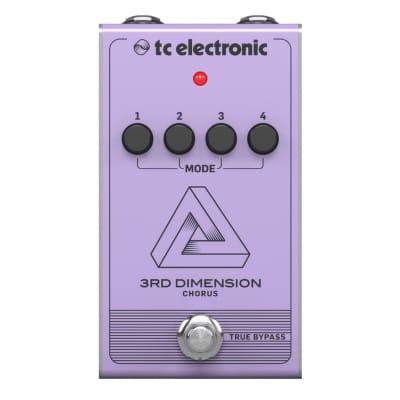 TC Electronic 3rd Dimension Chorus. Boss Dimension-C.