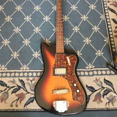 Supro Bass 1960's Sunburst for sale